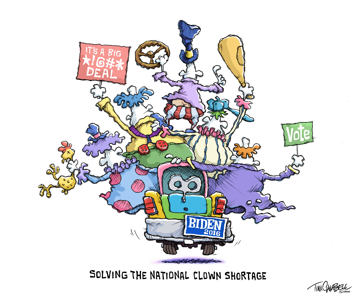 Clown Shortage by Tim Campbell
