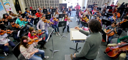 Brazilian conductor Yuri Azevedo leads the visiting Brazilian orchestra. (Submitted photo by Wayne Images)