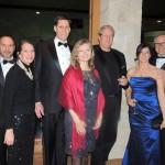 From left, Dr. John Brandt, Lisa Brandt, Dr. Walter Virkus, Jody Virkus, Dr.David Horvath, Annette Sorkin and Dr. Anthony Sorkin attended a gala held at the Lucas Estate. (Staff photo by Tonya Burton)