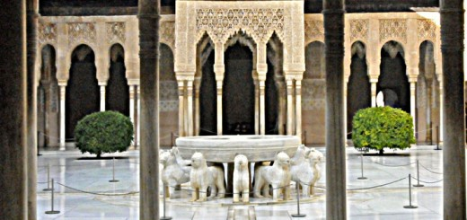 The Alhambra's Court of Lions (Photo by Don Knebel)