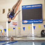 Carmel diver Laura Rokap only began diving in high school. (Photo by Sara Crawford)