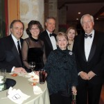 From left, Dr. Michael Tsangaris, Medical Director of pediatrics of Riley