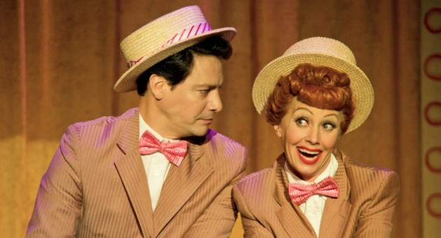 Bill Mendieta and Sirena Irwin star in the stage production of 'I Love Lucy' that's coming to Old National Centre. (Submitted photo)