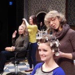 "A day at the beauty shop From back left, Kathryn ""Kat"" Paton as M'Lynn, Casey Votaw as Annelle, Jean Chilers Arnold as Truvy and Emily Lantz as Shelby (Submitted photo)"