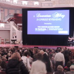 It was a packed house at the Palladium for the Downton Abbey Evening event. (Staff photo)