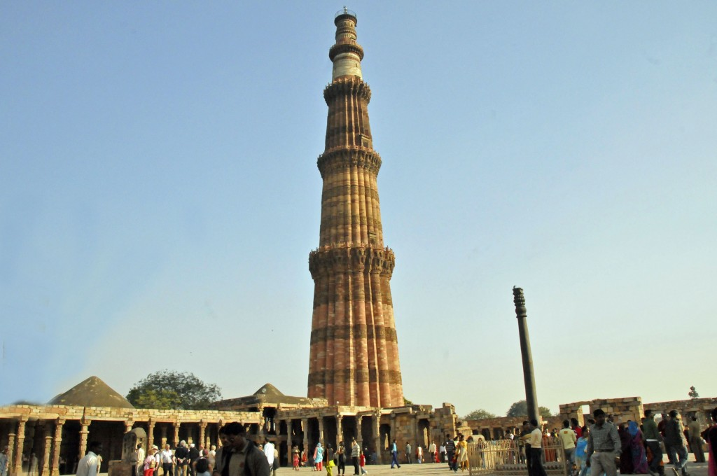 Qutb Minar Complex in Delhi, India (Photo by Don Knebel)