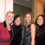 From left, Katherine Dill, Janet Waller, Featured Author Jessica Fellowes and Carole Ash. (Staff photo)