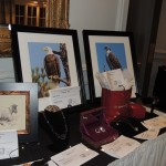 These were some of the many items available during the silent auction at the Actors Theatre of Indiana annual gala. (Staff photo by Tonya Burton)