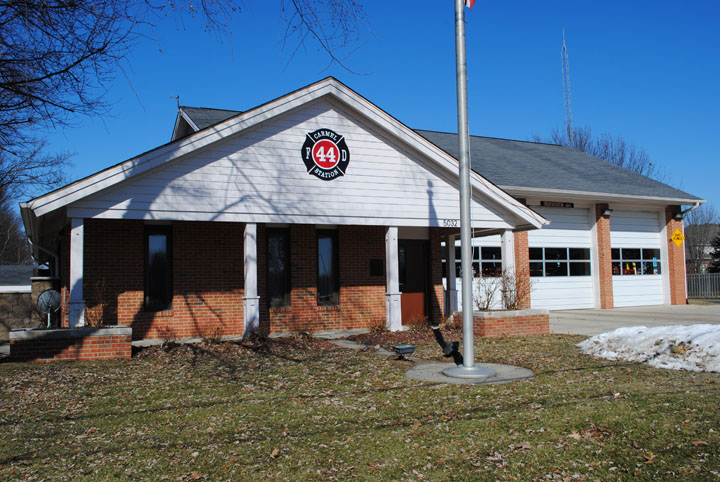 Fire station 44 on East Main Street could benefit from improvements to increase the living space for the firefighters who work there. (Staff photo)