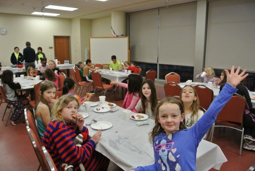 The Girls & Curlz Lock-In is a fun evening for girls age 7 to 13 at the Monon Center in Carmel. (Submitted photo)