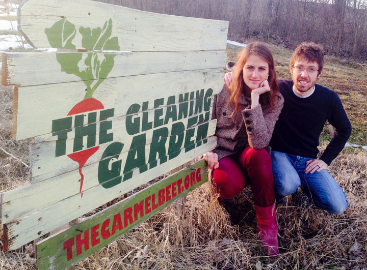 Amanda and Andrew Fritz operate the Gleaning Garden to help feed the less fortunate in Carmel. (Staff photo by Adam Aasen)