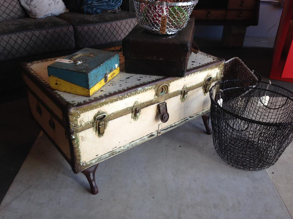 Rogue Décor designer Adam Graef turned an old trunk into a unique coffee table. (Submitted photo)