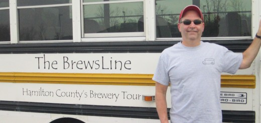 New to Hamilton County, The Brewsline is an educational, yet fun, guided bus tour that takes groups of up to eight people to several breweries in the area, including Barley Island, Bier Brewery, Triton Brewing Company, Carmel Upland Brewing Company, Union Brewing Company, and Brooks & Brews. (Photo by Nancy Edwards.)