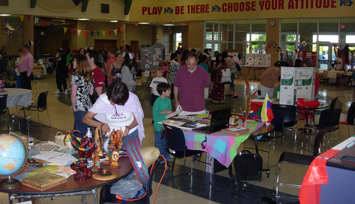 The 2012 Creekside Cultural Fair featured booths on 25 unique cultures and more than 400 community members attended. (Submitted photo)