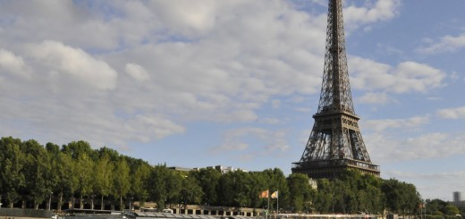 Paris' most iconic landmark, the Eiffel Tower, was supposed to be disassembled in 1919 - 20 years after being built. (Photo by Don Knebel)