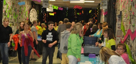 Students make their way into the ZCHS After-Prom event. Last year more than 800 students attended. (Submitted Photo)