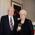 Jack and Joy Stafford, Carmel residents since 1970, attended the Actors Theatre of Indiana gala. (Staff photo by Tonya Burton)