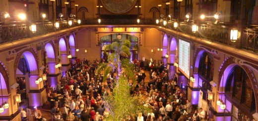 The Ice Miller Wine Fest at Union Station Banquet Hall was a sold-out affair. (Staff photo by Tonya Burton)