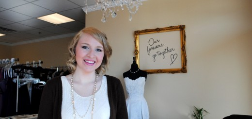 Alyssa Kelley, the owner of Beloved Brides in Carmel, will host a bridal event on May 11. (Staff photo)