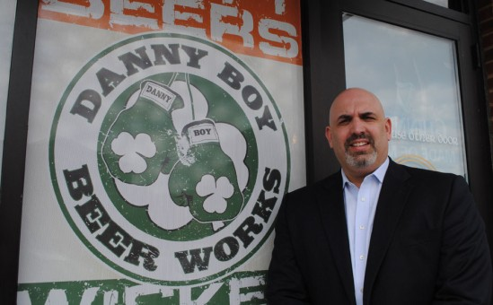 Owner Kevin Paul plans to open Danny Boy Beer Exchange in the Village of West Clay. (Staff photo)