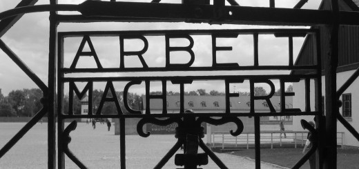 "The gates of the Dachau concentration camp in Germany read ""Work will set you free."" (Submitted photo)"