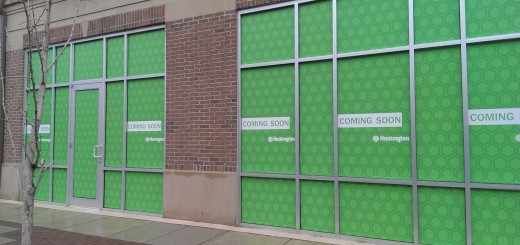 Huntington Bank's planned Sophia Square branch won't have a drive-thru. (Staff photo)
