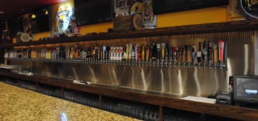 The Pint Room in downtown Carmel will offer 124 craft beers on tap. (Staff photo)