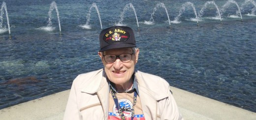 World War II Veteran Leo Seghetti of Fishers was one of two Fishers veterans who recently traveled to Washington, D.C., to participate in the fouth Indy Honor Flight.(Submitted photo)