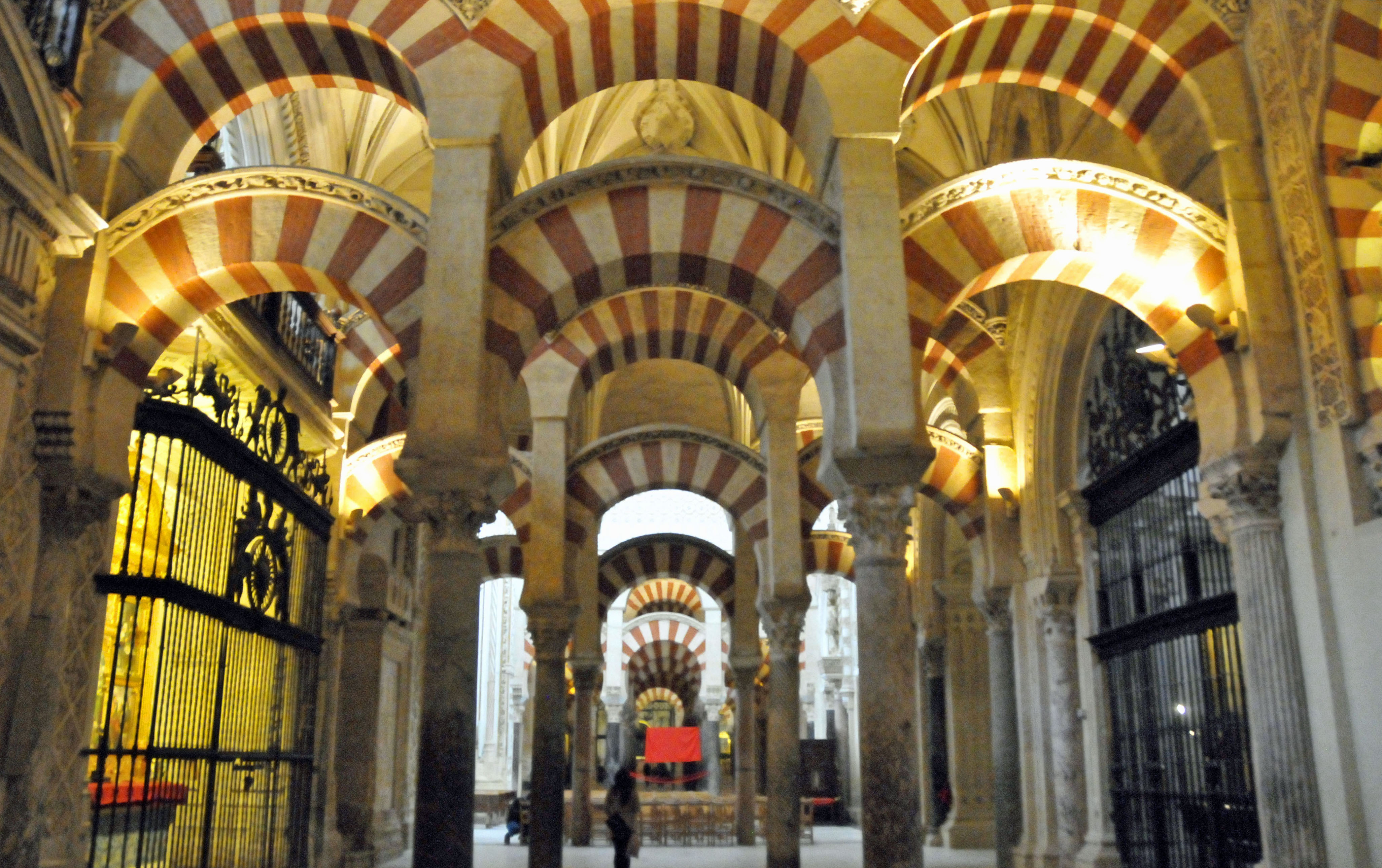 Inside the Mezquita of Cordoba (Photo by Don Knebel)