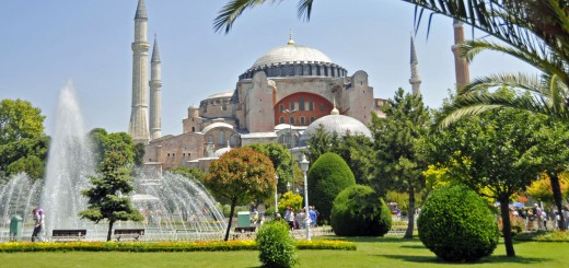 Hagia Sophia in Istantbul. (Photo by Don Knebel)