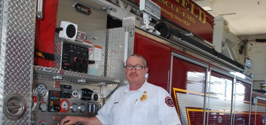 Joe Lyons joined the Westfield Fire Dept. as a volunteer firefighter in 1994 and has been a full-time for 18 years. (Photo by Robert Herrington)