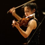 Midori is an accomplished violin player and also the chair of the strings department at the University of Southern California.