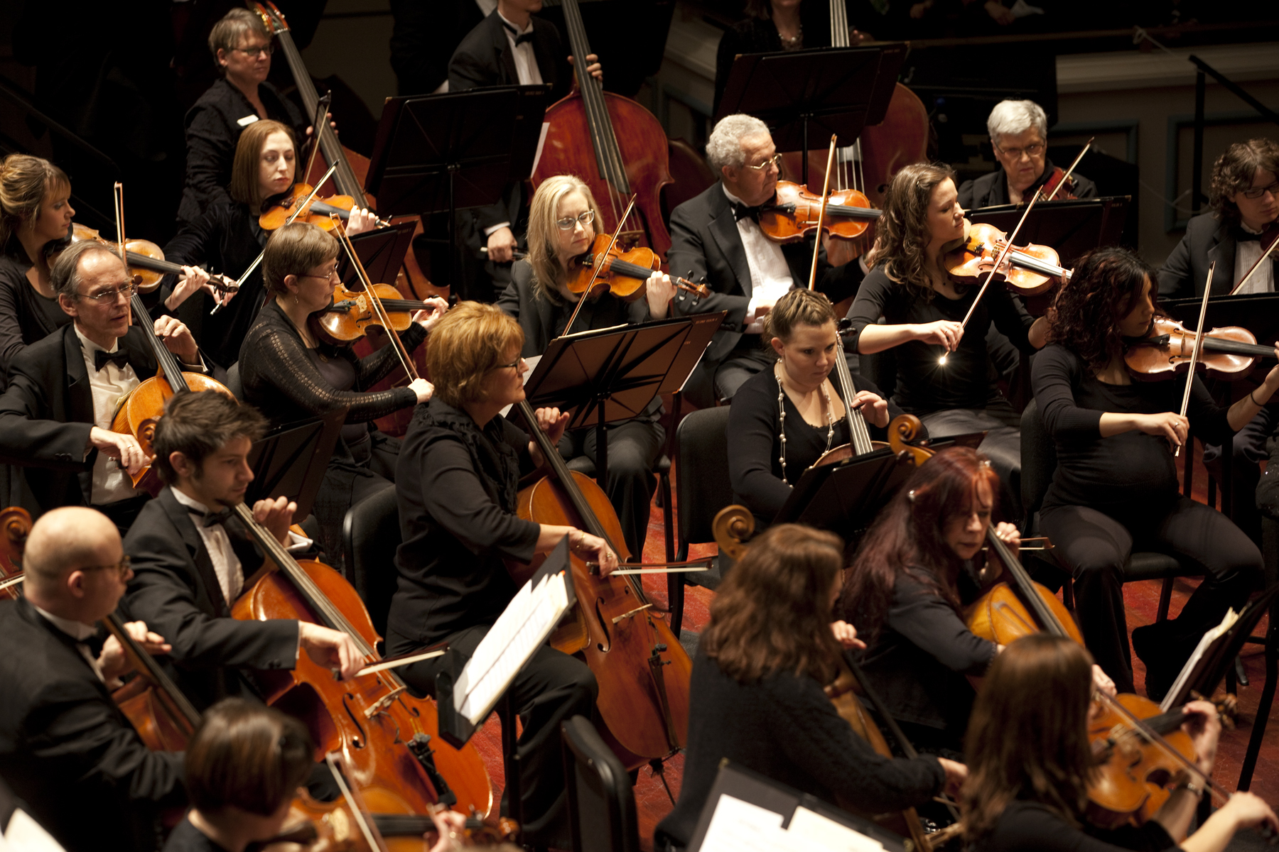 The Carmel Symphony Orchestra will also perform a special composition of the Star Spangled Ban- ner during its show on April 12. �����������������