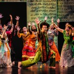 "A Gregory Hancock Dance Theatre ensemble cast dances during the entrance into Jerusalem in ""Superhero: The Story of a Man Called Jesus."" (Submitted photo)"