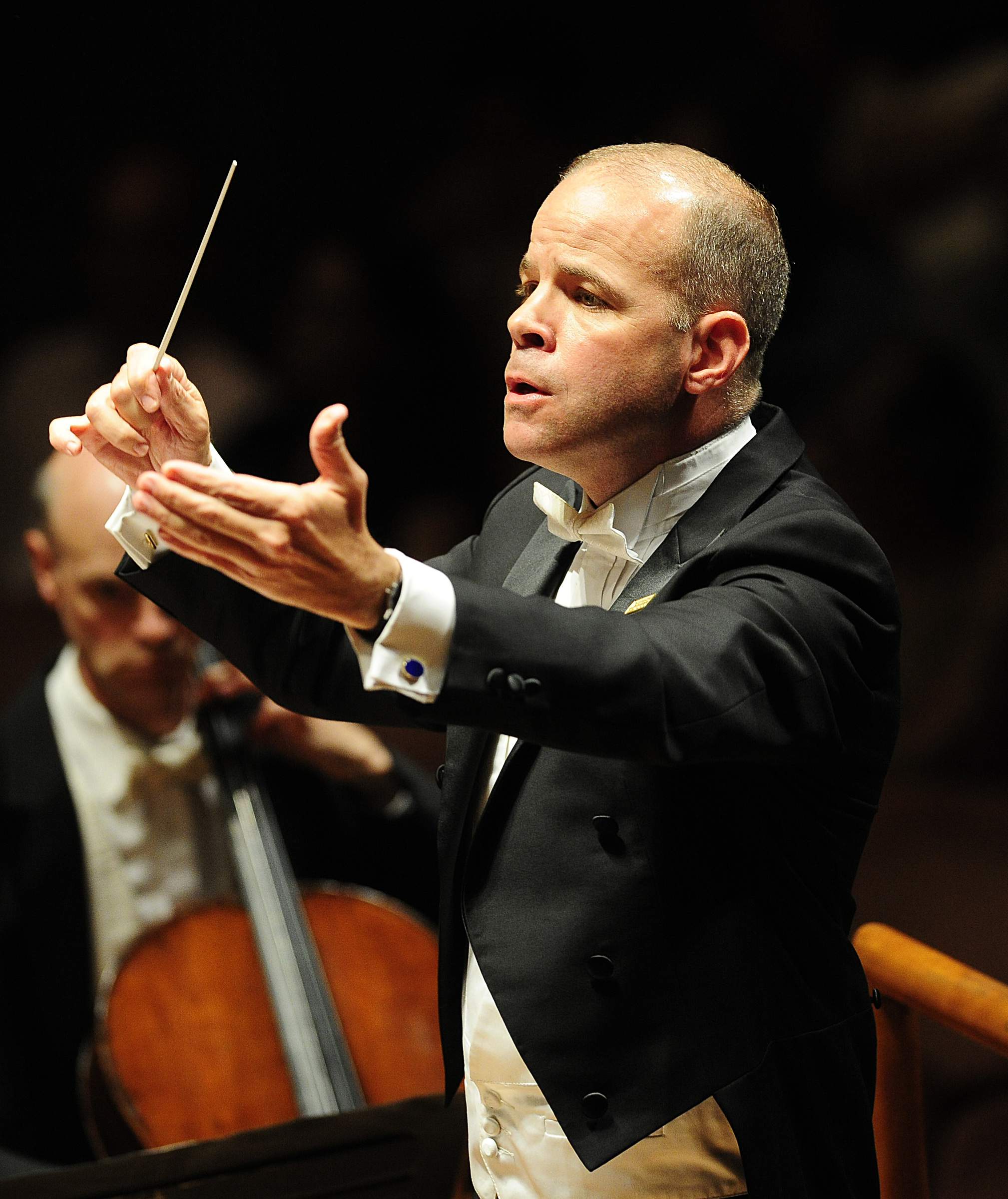 "Conductor Eric Stark will lead a performance of Benjamin Britten's ""War Reqiuem"" on May 3."