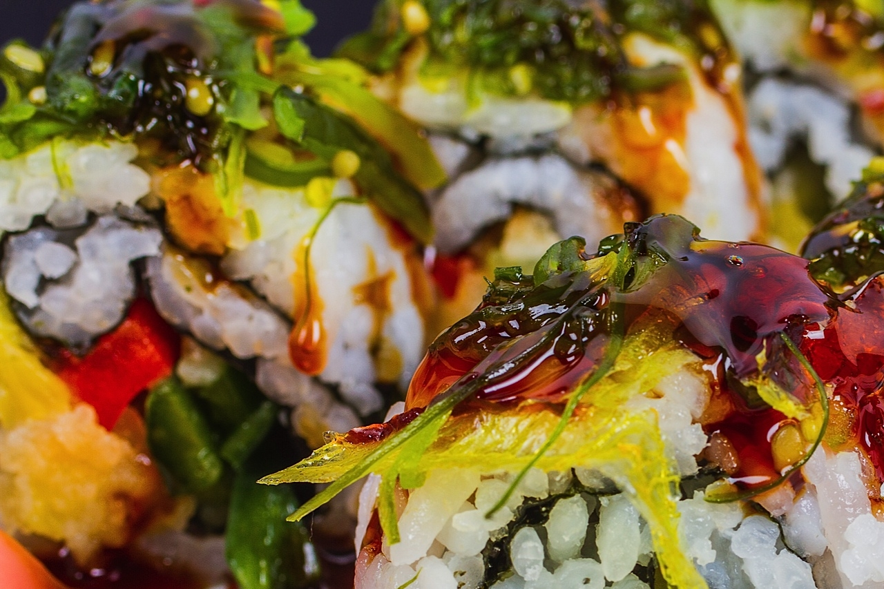 New Japanese sushi rolls will premiere at Noah Grant's this spring. (Submitted photo.)