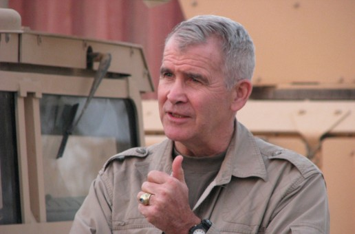 Oliver North will speak in Carmel on April 15.