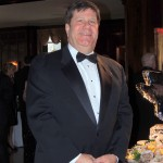 Carmel resident Jim Rentschler, the general manager and chief operating manager of the Columbia Club, oversees activities during the 125th anniversary gala for the Columbia Club. (Staff photo by Tonya Burton)