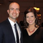 Golf Pro, Paul Resner, accompanies wife Beth Vaughn, co-anchor or WRTV -6 news, to the Star Gala at Ritz Charles. (Staff photo by Tonya Burton)