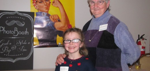 Phyllis and her granddaughter, Bailey, are anxiously awaiting the building of their new home.  (Submitted photo)