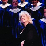Carmel High School Choral Director Ann Conrad, center, will retire at the end of the year. (Submitted photo)