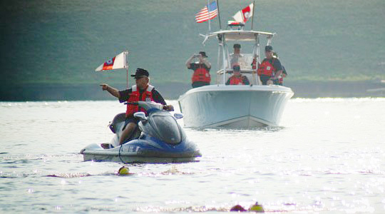 The Hamilton County Coast Guard Auxiliary works to keep local boaters safe on area reservoirs. (Submitted photo)