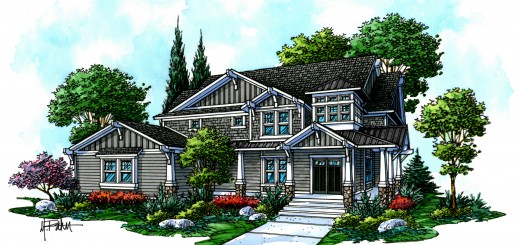 Home-A-Rama will feature homes constructed by five area builders. (Submitted rendering)