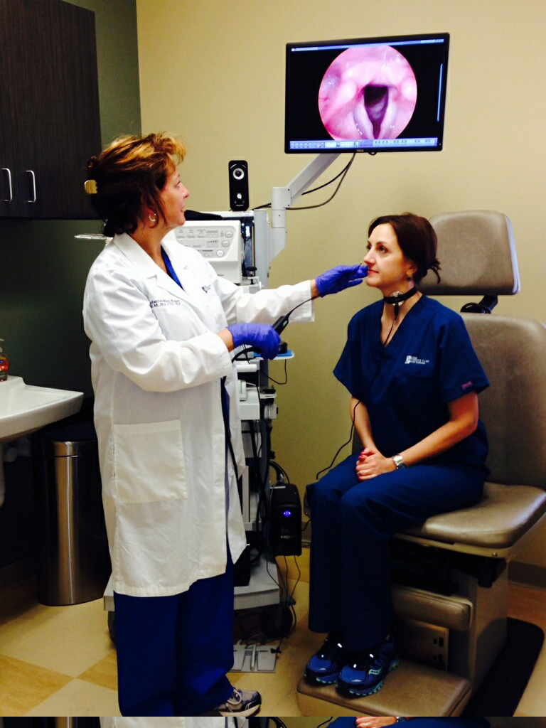 Dr. Stacey Halum specializes in treating voice disorders. (Submitted photo)