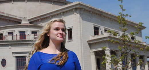 Sydney Sorrell, 17, would like to earn the chance to sing on the stage of the Palladium during the Great American Songbook Vocal Academy & Competition. (Staff photo)