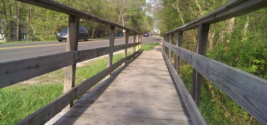 Carmel plans to dismantle an old boardwalk and install a new paved bike path in its place. (Staff photo)