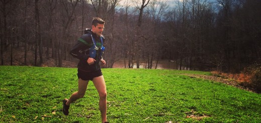 Aaron Pugh of Fishers trains for his run. (Submitted photo)