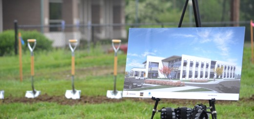 Meyer Najem broke ground on its new headquarters in the Fishers' Nickel Plate District on May 15. (Submitted photo)