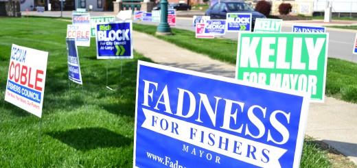 CIF-COM political party charimen discuss fishers races