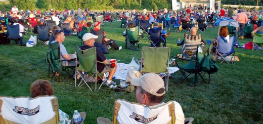 Patrons fill Dillon Park, 6001 Edenshall Lane, to watch Zanna-Doo perform as part of the 2012 concert series. Zanna-Doo will perform July 10 at Forest Park. (File photo by Robert Herrington)